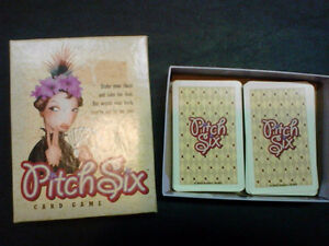 """Pitch Six"" card game London Ontario image 1"