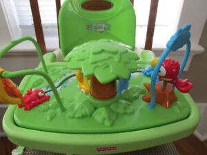 FISHER PRICE RAIN FOREST BOOSTER