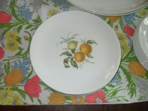 Staffordshire England Ironstone Dinner Plates set