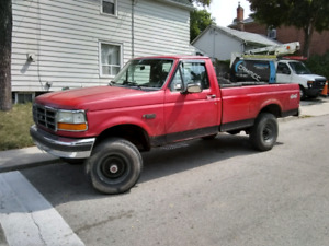 92 F250 $3500 OBO Great work truck.