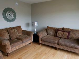 Large Comfy 3 piece Sofa Set
