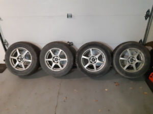 Fast wheels and tires 150$