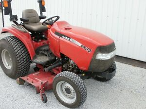 """Caseih Farmall Dx33 Compact Tractor 4x4 Low Hours 60"""" Mower"""