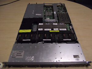 Eight HP Proliant DL360G5 Dual CPU - Quad core Xeon