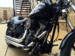 Custom HARLEY NIGHT TRAIN for sale or trade for Street Glide Cambridge Kitchener Area image 4
