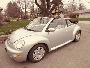 2003 Volkswagen New Beetle GLS Convertible