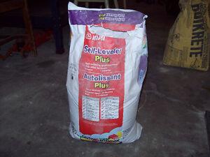 Ciment autonivellant