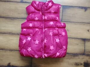 Size 4T 'Old Navy' Girls Insulated Vest (Pink)