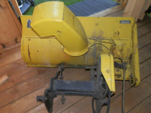 Get Ready for Winter-38 Inch John Deere Snow Thrower Attachment