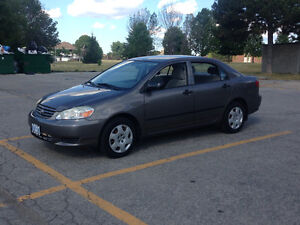 2003 Toyota Corolla CE Sedan with ONLY 39,155 Kms