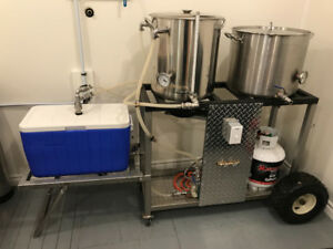 All Grain Beer Brewing system complete
