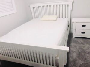 Bed Frame and Mattress ( GOOD CONDITION ) ( PRICE NEGOTIABLE )