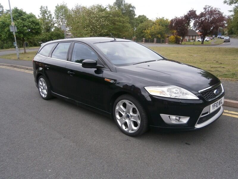 ford mondeo 2 0tdci titanium x sport 163ps estate black 2010 in droitwich worcestershire. Black Bedroom Furniture Sets. Home Design Ideas