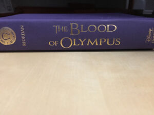 The Blood of Olympus by Rick Riordan for Sale