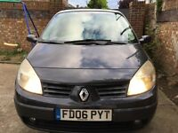 06 MODELRenault MEGANE SCENIC EXPRESSION 1.6 WITH LONG MOT EXCELLENT CONDITION DRIVE SPOT ON