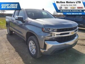 2019 Chevrolet Silverado 1500 LT, HEATED LEATHER, PUSH BUTTON ST
