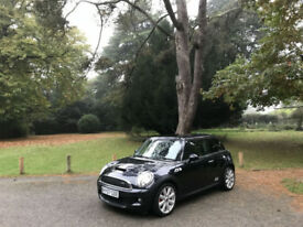 2007/07 Mini 1.6 Turbo Cooper S JWC 3 Door Hatchback Black
