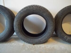 4 Goodyear Snow Tires P225/60R16 - Like NEW ONLY $200!