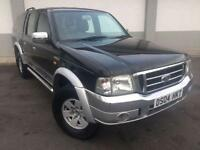 2004 04 FORD RANGER 2.5TDDI XLT THUNDER DOUBLE CAB 1 OWNER 4X4