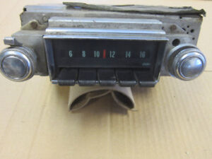 Classic 1968 Chevrolet Radio $100.00 Holley 750 Carb. $150.00
