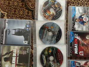 PS3 SLIM WITH 20+ GAMES