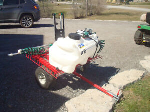 LAWN SPRAYER and CART