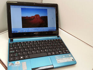 acer 10.1inch Netbook VGA Webcam WiFi Intel 1gb 120hdd Win 7