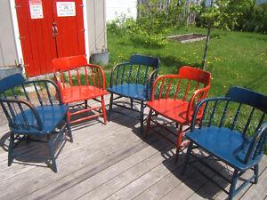 5 Belles chaises anciennes