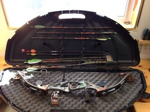 Compound Bow complete setup!