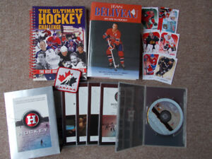 Hockey Lover's Book Lot Plus More!