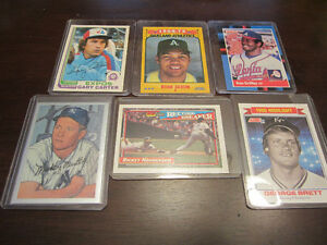 1970's and 80's Baseball Cards $4 Each EX/NM/MT Windsor Region Ontario image 1
