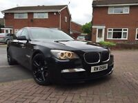 Bmw 730d m sport fully loaded TV/dvd freeview
