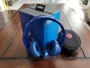 Beats solo 2 wireless headphone, blue