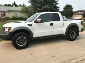 2010 ford raptor 500 HP SUPERCHARGED 20k extras only 70kms
