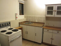 2 Furnished room in basement with living room, kitchen