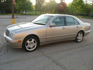 2002 Mercedes-Benz E-Class E430 4matic Sedan