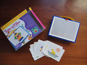 Discovery Toys- Tote 'n Tile-complete