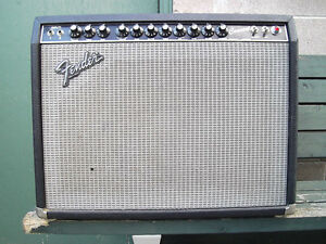 Vintage Fender Rivera II Series Tube Amps