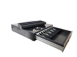 "18"" POS Cash Drawer with Stainless Steel Front"