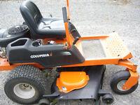 Zero Degree Turning Lawnmower
