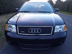 2004 Audi A6 Quattro Turbo Berline  cuir mags Ac no rust