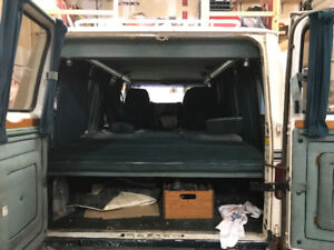 Parting out a 1987 Chevy g20 Starcraft van