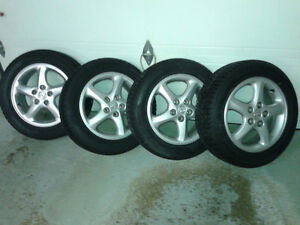 "Mazda 3 or 6  - 16"" Mags with new winter tires"