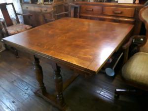 Refinished Oak Dining Room Set