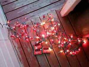 3 x 25 ft of x-mas lights 3 pks of x-tra bulbs $5.00 FOR ALL Windsor Region Ontario image 2