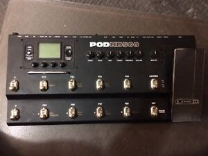 Line 6 Pod HD 500 Effects Board - Priced for Quick Sale