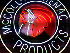 McColl-Frontenac Products Neon Sign