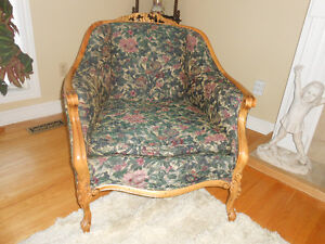 Gracious Old Couch and Chair. Peterborough Peterborough Area image 1