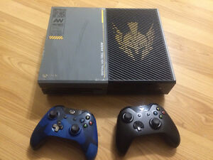 1TB Limited edition Call of Duty Xbox one
