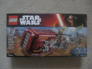 Lego Star Wars Rey's Speeder (Brand New In Box)  Excellent Condi